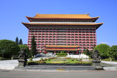 Grand Hotel of Taipei. The Grand Hotel of Taipei in Taiwan royalty free stock photos