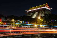 Grand hotel in Taipei Royalty Free Stock Image