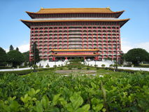 The Grand Hotel Taiwan. This photo taking at  Taiwan, This is a meaningful and historyic building Royalty Free Stock Image