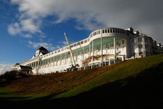 Grand Hotel under construction Stock Photography
