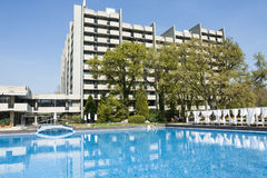Grand hotel Varna, Bulgaria Royalty Free Stock Image