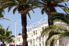 The Grand Hyatt Cannes Hôtel Martinez Royalty Free Stock Photography