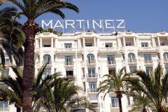 The Grand Hyatt Cannes Hôtel Martinez Royalty Free Stock Photo