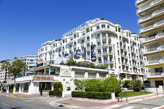 Grand Hyatt Cannes Hotel Martinez, France Stock Images