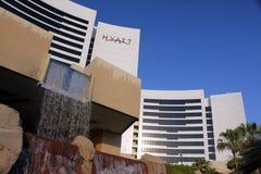 Grand Hyatt Dubai hotell Arkivbild
