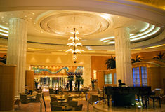 Grand Hyatt Dubai  interior Royalty Free Stock Image