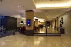 Grand Hyatt Hotel Lobby Royalty Free Stock Photos