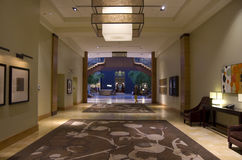 Grand Hyatt hotel lobby Stock Image