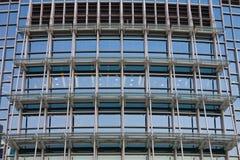 Grand immeuble de bureaux de plan rapproché Photo stock