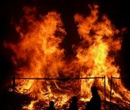 Grand incendie 2 Images libres de droits