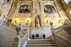 Grand interior at Palazzo Reale Royalty Free Stock Image