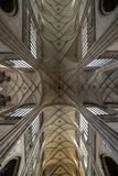 Vitus Cathedral Majestic Interior royalty free stock images