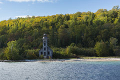 Grand Island E Channel Lighthouse Stock Images