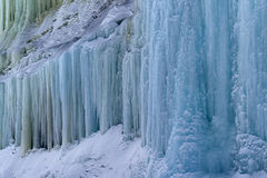 Grand Island Ice Cave Exterior Royalty Free Stock Photo