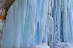 Grand Island Ice Cave Exterior Royalty Free Stock Images
