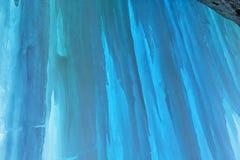 Grand Island Ice Cave Interior Stock Photography