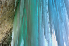 Grand Island Ice Cave Stock Photos