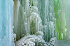 Grand Island Ice Cave Stock Photo