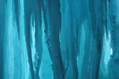 Grand Island Ice Cave. Landscape of an ice cave, Grand Island National Recreation Area, Lake Superior, Michigan's Upper Peninsula, USA stock photo