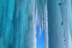 Grand Island Ice Cave Royalty Free Stock Images