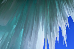 Grand Island Ice Cave Royalty Free Stock Image