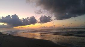 Grand Isle, Louisiana. Before Sun rise Grand Isle, Louisiana stock photography