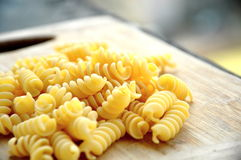 Grand Italien Fusilli photographie stock