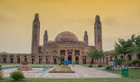 Bahria Town Mosque lahore royalty free stock images