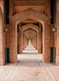 Bahria Town Mosque side ways lahore stock photos