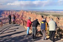 grand jarów turystów Zdjęcia Royalty Free