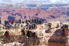 grand jarów turystów Zdjęcia Stock