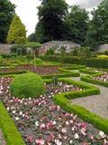 Grand jardin de labyrinthe image libre de droits
