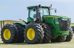 Grand John Deere Tractor Photo libre de droits