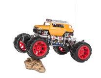 Grand jouet de camion Photographie stock libre de droits