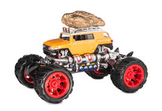 Grand jouet de camion Photos stock