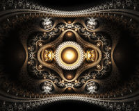 Grand julian fractal Royalty Free Stock Image