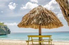Grand Knip Beach in Curacao at the Dutch Antilles. A Caribbean island royalty free stock photo
