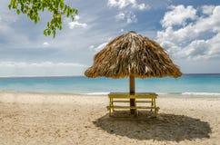 Grand Knip Beach in Curacao at the Dutch Antilles. A Caribbean island stock photos