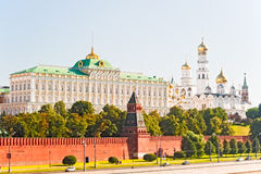 Grand Kremlin Palace and the Ivan the Great Bell. Stock Photos