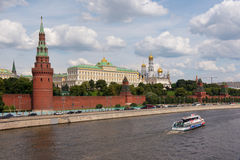 The Grand Kremlin Palace and Kre Stock Image