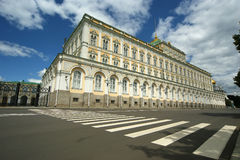 The Grand Kremlin Palace. Moscow Kremlin Royalty Free Stock Image
