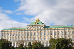 The Grand Kremlin Palace. Moscow Kremlin, Russia. Royalty Free Stock Photography