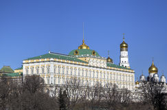 Grand Kremlin Palace. Stock Photo