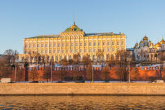 Grand Kremlin Palace. In Russia Stock Photography