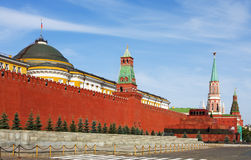 Grand Kremlin Palace and the Senate tower Stock Image