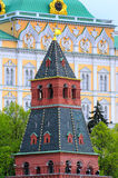 Grand Kremlin Palace and the Tower Royalty Free Stock Image