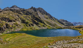 Grand Lac from Lacs de Vens Stock Photos