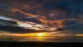 Grand lever de soleil Photos stock