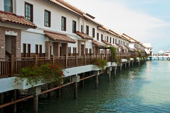 Grand Lexis, Port Dickson. Water Chalet at Port Dickson Royalty Free Stock Image