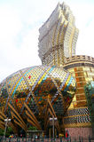 Grand lisboa casino and hotel, macau Royalty Free Stock Images